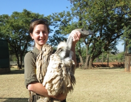 Colchester Zoo keeper takes part in Vulture Project Seminar!